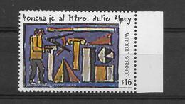 URUGUAY 2005 HOMAGE TO TEACHER JULIO ALPUY, 1 VALUE, MNH - Uruguay
