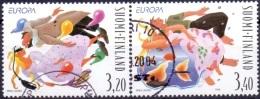 Finland 1998  Europazegels GB-USED - Finland