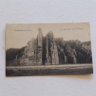 Comblain Au Pont   Les Rochers De La Vierge  -   Envoyée En Russie  Avec Texte Et Cachets . - Comblain-au-Pont