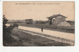 ANDOUILLE NEUVILLE - LA GARE, ROUTE DE RENNES A ANTRAIN - 35 - Sonstige Gemeinden