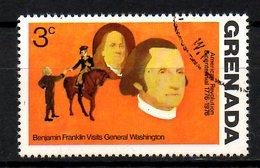 GRENADE. N°594 Oblitéré De 1975. George Washington. - George Washington