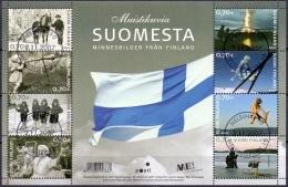 Finland 2007 Blok Herrinneringen GB-USED - Oblitérés