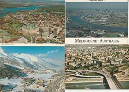 16 Vues Aeriennes Pays Etrangers - Postkaarten