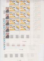 TAAF 1986 Birds 3v Complete Sheetlets With Full Margins ** Mnh (TA241) - Ongebruikt