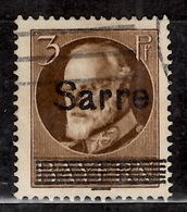Sarre YT N° 17C Oblitéré. B/TB. A Saisir! - 1920-35 Société Des Nations