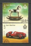 San Marino  2015  Mi.Nr. 2619 / 2620 , EUROPA CEPT - Historisches Spielzeug - Gestempelt / Used / (o) - Europa-CEPT