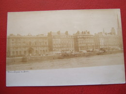 """76 - ROUEN - CARTE PHOTO - """" LE QUAI DU HAVRE """" -  AVANT 1900  -   ////   TRES RARE   //// - Rouen"""