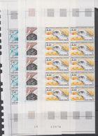 TAAF 1986 Birds 3v 10x ** Mnh (TA242) - Ongebruikt