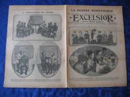 L'EXCELSIOR De 1915 N° 1768 - A La Une: MUTILES DE LA GUERRE ET LEURS INDUSTRIES - Newspapers
