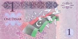Libya P.76 1 Dinar 2013 Unc - Libya