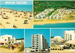 D85 - SAINT HILAIRE DE RIEZ - MERLIN L'OCEANE - LA VENDEE TOURISTIQUE - MULTIVUES - CPSM Colorisée Grand Format - Saint Hilaire De Riez