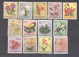 Belgique  -  Congo  :  Yv  302...321  **  13 Valeurs - 1947-60: Neufs