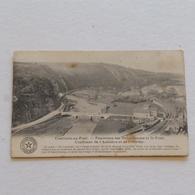COMBLAIN AU PONT -Douxflamme Et Le Pont (2 Petites Taches ) -- Envoyée - Comblain-au-Pont