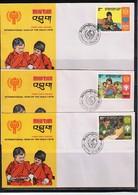 Bhutan 1979 Year Of The Child FDC - Bhoutan