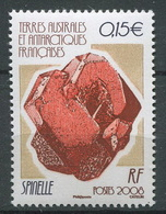 TAAF 2008 - N° 499 - Minéraux - Spinelle - Neuf -** - Neufs
