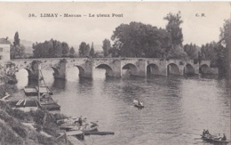 LIMAY (78) Le Vieux Pont - Limay