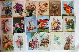 BONNE FETE Avec  Fleur .  Petit Lot De 18 Cartes - Otros
