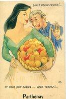 79 - Parthenay : Carte à Système -  Quels Beaux Fruits !...Et Sous Mon Panier, Vous Verrez .... - Parthenay