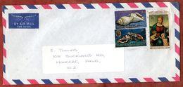Luftpost, MiF Meeresschnecken U.a., Rarotonga Nach Auckland 1974? (71241) - Cookinseln