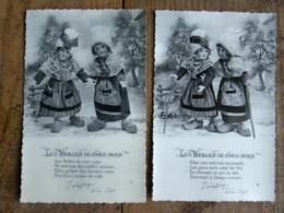 CPA Illustrateur Pierre Calel - Lot De 6 Cartes - Série Les Vieilles De Chez Nous - Jouets Poupées - N° 1 à N° 6 - Spielzeug & Spiele