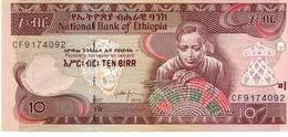 Ethiopia P.48f 10 Birr 2015 Unc - Etiopia