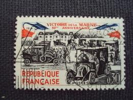 """60-69- Timbre Oblitéré N°  1429  """" Taxis  De La Marne    """"  0.15 - Oblitérés"""