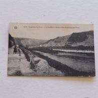 COMBLAIN -LA-TOUR  ---L'ourthe Et Route Vers Comblain Au Pont . Envoyée - Hamoir