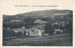 69 // COURS    Usines De La Rivère Et Village Bosland - Cours-la-Ville