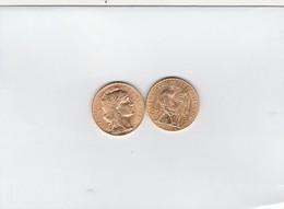 FRANCE 1914  20 FRANCS OR MARIANNE QUALITE SUP - L. 20 Francs