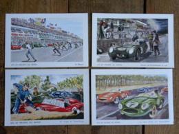 CPA (72) Sarthe - LES 24 HEURES DU MANS - Lot De 10 Cartes - Illustrateur Aldé - Le Mans