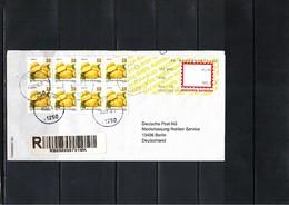 Macedonia 2018 Potatoes Interesting Registered Letter - Vegetables