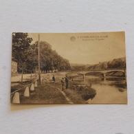 COMBLAIN -LA-TOUR  --Le Pont Et L'ourthe    ---. Envoyée - Hamoir