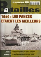 Rare Revue Batailles N°26 - 1939-45