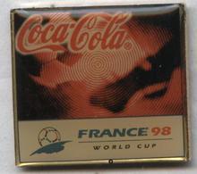 Pin's Football Coupe Du Monde France 98 Word Cup FIFA Soccer - Coca Cola (6) - Football