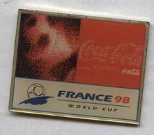 Pin's Football Coupe Du Monde France 98 Word Cup FIFA Soccer - Coca Cola (7) - Football