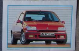 Petit Calendrier De Poche 1993 Voiture Renault  St Laurent Blangy - Calendriers