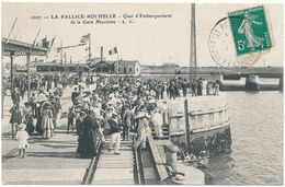LA PALLICE-ROCHELLE - Quai D'embarquement - La Rochelle