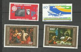 Gabon Poste Aérienne N°190 à 193 Neufs** Cote 5.10 Euros - Gabon
