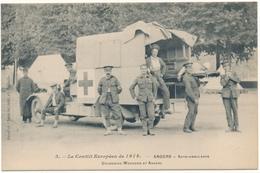 ANGERS - Conflit Européen 1914 - Armée Britannique, Auto Ambulance , WW1 - Angers