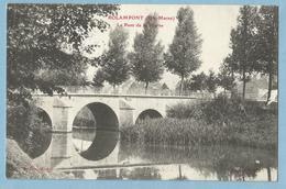 1933  CPA   ROLAMPONT  (Haute-Marne)  Le Pont De La Marne - Timbre 10c Semeuse + DIEU PROTEGE LA FRANCE  +++ - Autres Communes