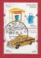 Portugal / Madeira   2015 Mi.Nr. 356 + 357 Aus Block 63 , EUROPA CEPT - Historisches Spielzeug - Gestempelt / Used / (o) - Europa-CEPT