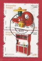 Portugal    2015 Mi.Nr. 4036 + 4037 Aus Block 376 , EUROPA CEPT - Historisches Spielzeug - Gestempelt / Used / (o) - 2015