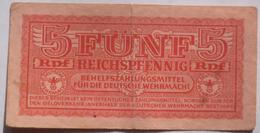 5 Reichspfennig (WPM M 33) Ohne Jahr / Behelfszahlungsmittel Deutsche Wehrmacht - [10] Emisiones Militares