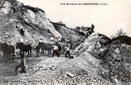 85. VENDEE - CHEFFOIS. Les Rochers De La Carrière. - Andere Gemeenten