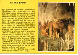 BELLISSIMA CARTOLINA GROTTE DI FRASASSI GENGA E142 - Cartoline
