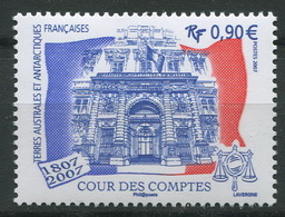 TAAF 2007 - N° 471 - Cour Des Comptes - Neuf -** - Neufs