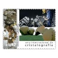 Portugal  ** & International Year Of Crystallography, Geology, Calcopirita 2014 (7577) - 1910 - ... Repubblica