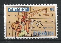 Österreich  2015   Mi.Nr. 3214 , EUROPA CEPT - Historisches Spielzeug  - Gestempelt / Used / (o) - 2015