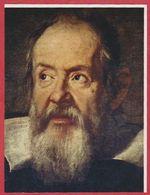 Galilée, Portrait De Susterman, Recto. Guglielmo Marconi, Verso. Italie. Encyclopédie De 1970. - Vieux Papiers