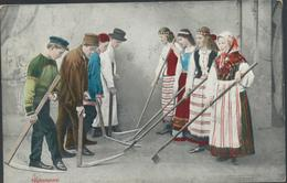 61-1286 Suomi Finland Finnland National Costumes Trachten - Finland